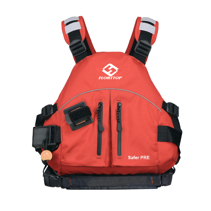Light Wild-water and Seak-ayak Life Vest Safer FRE 450D [Orange]