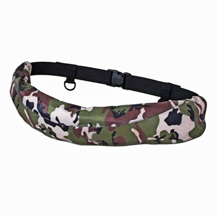 FLOATTOP Adult Belt Pack INFLATABLE LIFE JACKET [CAMO]
