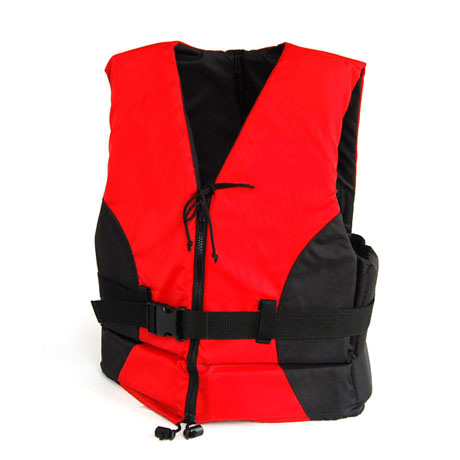 FLOATTOP Single buckle Nylon Vest with Front Zipper