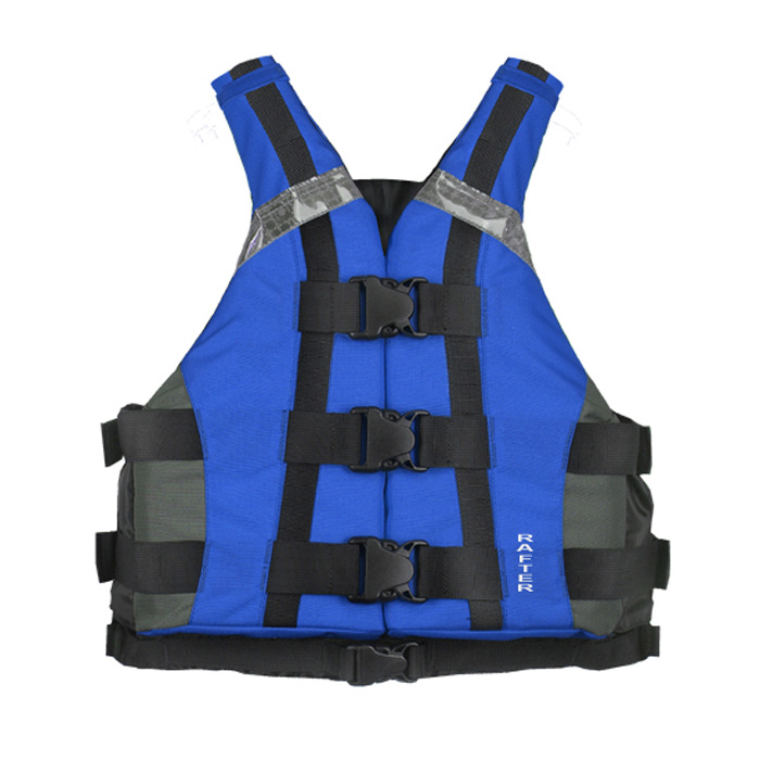 FLOATTOP Robust Rental Kayak School and Rafting Vest [BLUE]