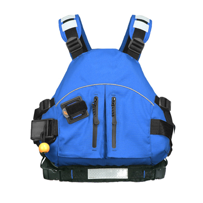 Light Wild-water and Seak-kayak Life Vest Safer FRE 450D [BLUE]